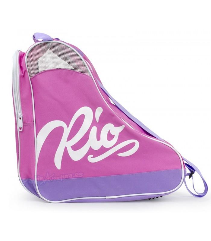 Bolsa Porta Patines Rio Roller Rosa Adulto/Niños