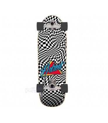 Cruiser D Street Surfskate Carver Check Warp