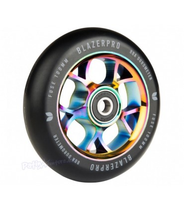 Rueda Scooter Freestyle Blazer Pro Fuse Neo Chrome 100mm