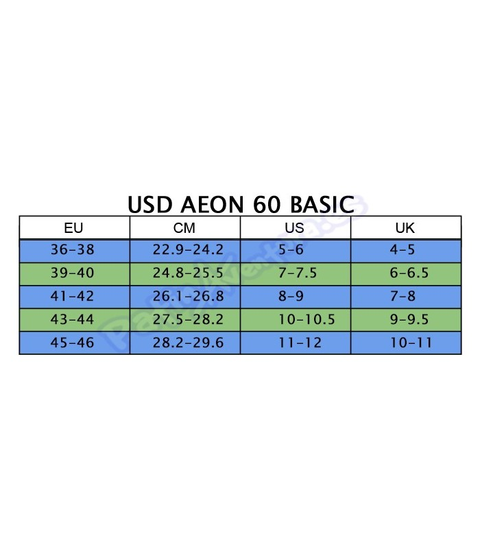 Patines Agresivos USD Aeon 60 Basic Negro Adulto