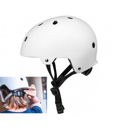 Casco Powerslide Urban Blanco