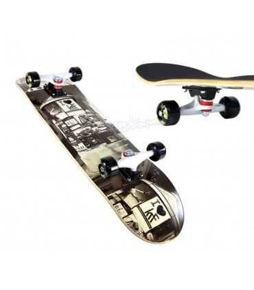 "Skateboard KRF Muppy City 31,5"" x 7,75"""
