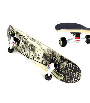 "Skateboard KRF Bus Road 32"" x 8"""