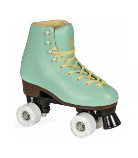 Patines Quad Playlife Rollerskates Sunset Agua
