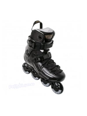 Patines Freeskate FR1 80 Deluxe Intuition Negro Adulto