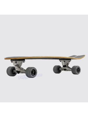 "Surfskate Carver Mindless Fishtail Negro 29.5"" x 9.75"""